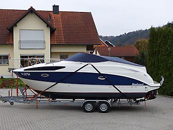 Persenning Bayliner 265 Weathermax 80 admiralblau Bootspersenning 05