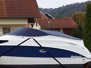 Persenning Bayliner 265 Weathermax 80 admiralblau Bootspersenning 06