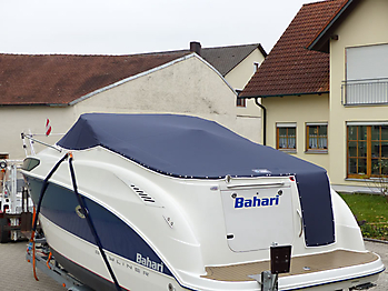 Persenning Bayliner 265 Weathermax 80 admiralblau Bootspersenning 09
