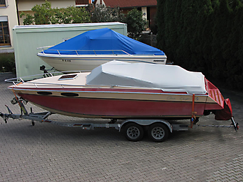 Persenning Chris Craft Scorpion 230 Bootspersenning 01