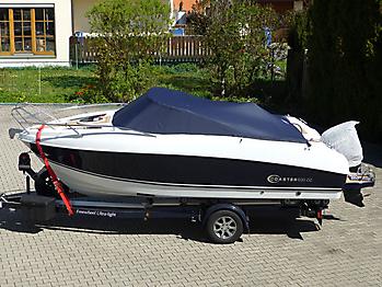 Persenning Coaster 600 DC Scandica 20 Oceanmaster 600 Cabin Bootspersenning 01