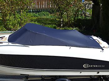 Persenning Coaster 600 DC Scandica 20 Oceanmaster 600 Cabin Bootspersenning 02