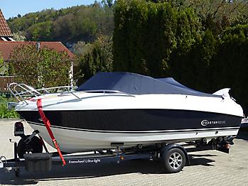 Persenning Coaster 600 DC Scandica 20 Oceanmaster 600 Cabin Bootspersenning 05