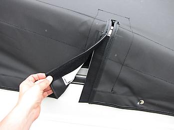 Persenning Crownline 236 SC Bootspersenning 08