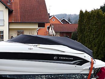 Persenning Crownline 250 CR Weathermax 80 schwarz Bootspersenning 04