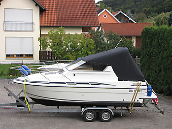 Persenning Fairline 21 Bootspersenning 01