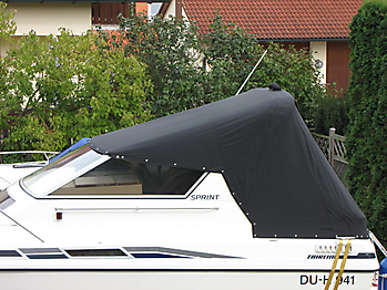 Persenning Fairline 21 Bootspersenning 02