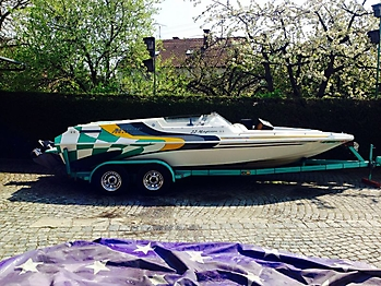 Persenning Magic Powerboats 22 Magician Bootspersenning 11