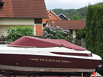 Persenning Maxum 2300 SC Bootspersenning 04
