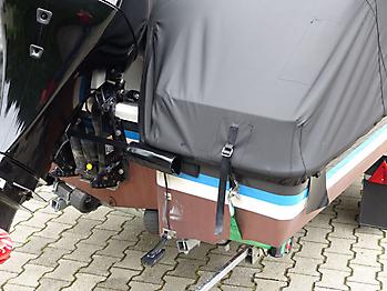Persenning Quicksilver activ 555 open Ganzpersenning 09