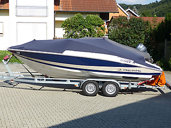 Persenning Regal 2100 Bootspersenning 02