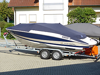 Persenning Regal 2100 Bootspersenning 07