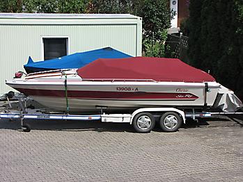 Persenning Sea Ray 195 Monaco Bootspersenning   01