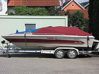 Persenning Sea Ray 195 Monaco Bootspersenning   02