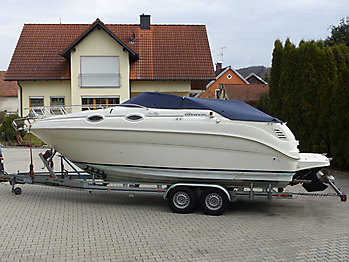 Persenning Sea Ray 240 DA Sundancer Bootspersenning 02