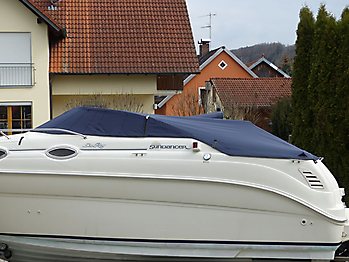 Persenning Sea Ray 240 DA Sundancer Bootspersenning 03