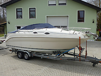 Persenning Sea Ray 240 DA Sundancer Bootspersenning 06