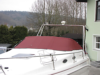 Persenning Sea Ray 240 DA Sundancer Bootspersenning 05