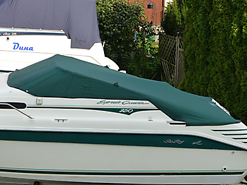 Persenning Sea Ray 250 Express Cruiser Bootspersenning02