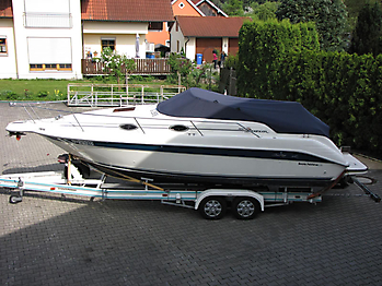 Persenning Sea Ray 250 Sundancer Bootspersenning 01
