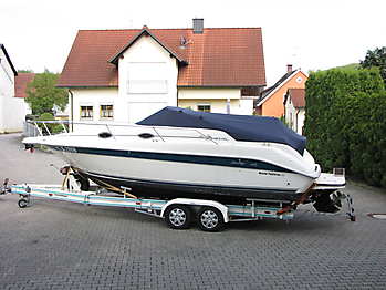 Persenning Sea Ray 250 Sundancer Bootspersenning 03
