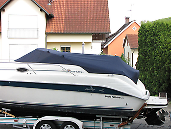Persenning Sea Ray 250 Sundancer Bootspersenning 04
