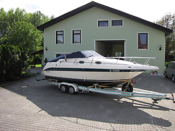 Persenning Sea Ray 250 Sundancer Bootspersenning 07