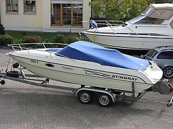 Persenning Stingray 220 CS Bootspersenning 01