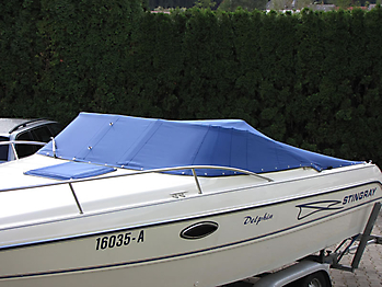 Persenning Stingray 220 CS Bootspersenning 03