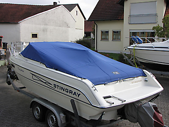 Persenning Stingray 220 CS Bootspersenning 04
