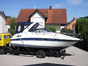 Verdeck Bavaria 270 Sport Bootsverdeck Persenning 03