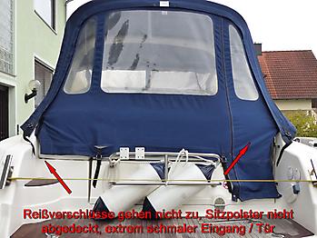 Altes Verdeck Bavaria 29 Sport zum Vergleich 05