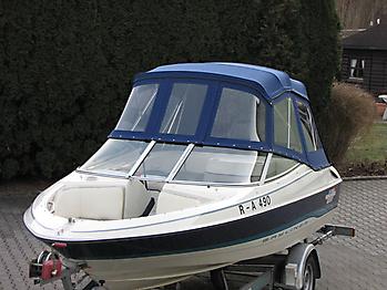 Verdeck Bayliner 1750 LS Persenning 07