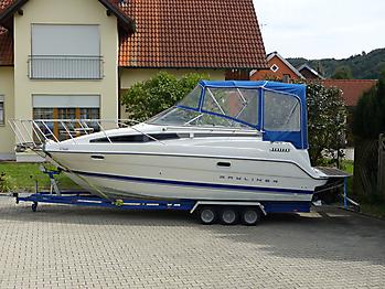 Altes Verdeck Bayliner 2355 zum direkten Vergleich 03