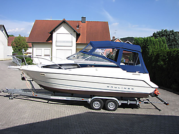 Verdeck Bayliner 2655 Bootsverdeck Persenning 03