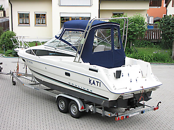 Verdeck Bayliner 2655 Bootsverdeck Persenning  32