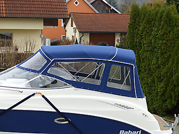 Verdeck Bayliner 265 Persenning 02