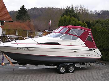 Bootsverdeck Bayliner 2755 Verdeck 06