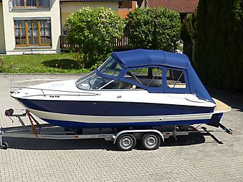 Verdeck Bayliner 652 Cuddy Bootsverdeck Persenning 01