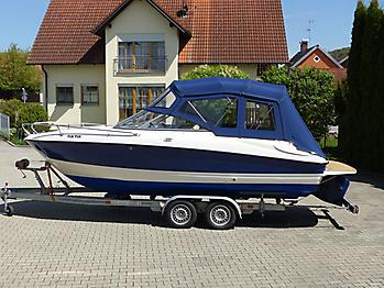 Verdeck Bayliner 652 Cuddy Bootsverdeck Persenning 03
