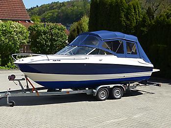 Verdeck Bayliner 652 Cuddy Bootsverdeck Persenning 05