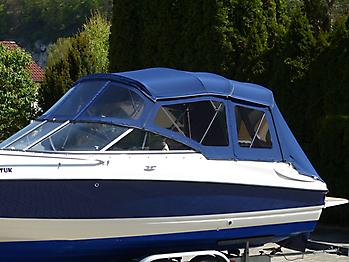 Verdeck Bayliner 652 Cuddy Bootsverdeck Persenning 06