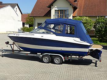 Verdeck Bayliner 652 Cuddy Bootsverdeck Persenning 16