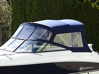 Verdeck Coaster 600 DC Scandica 20 Oceanmaster 600 Cabin Persenning 04