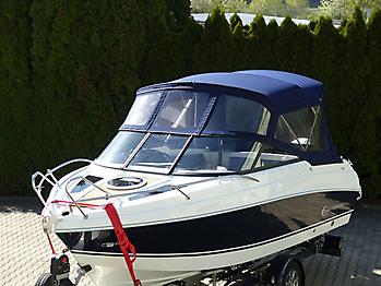 Verdeck Coaster 600 DC Scandica 20 Oceanmaster 600 Cabin Persenning 05