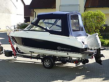 Verdeck Coaster 600 DC Scandica 20 Oceanmaster 600 Cabin Persenning 11