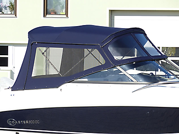 Verdeck Coaster 600 DC Scandica 20 Oceanmaster 600 Cabin Persenning 25