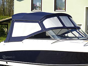 Verdeck Coaster 600 DC Scandica 20 Oceanmaster 600 Cabin Persenning 27