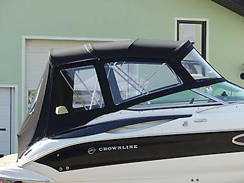 Verdeck Crownline 250 CR mit Edelstahlgestaenge Persenning 14