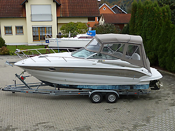 Camperverdeck Crownline 250 CR Sunbrella Plus Taupe 01